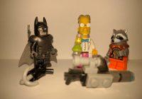Trois personnages Lego